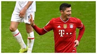 Lewandowski PSG Bayern Champions