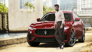 David Beckham, embajador mundial de Maserati.