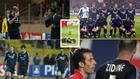 Distintos momentos del Mónaco-Madrid de 2004
