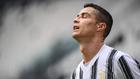 El jugador portugués se lamenta durante el último partido de la...