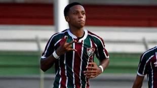 Kayky, jugador de Fluminense