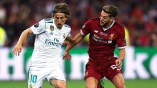 """Lallana recuerda la final de Kiev: """"No podía acercarme a Modric,  era como un conejo entre los focos"""""""