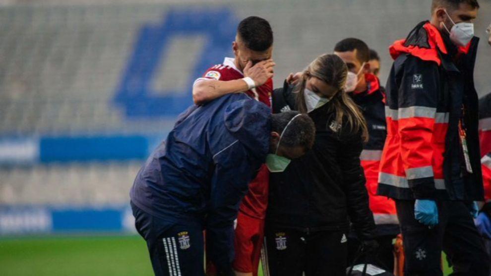 Cristian López se rompe el cruzado: adiós a la temporada