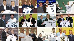 El 'regalo' de Kroos, la 'ganga' de Valverde, la 'millonada' de Kaká... así está el ránking de fichajes de Florentino Pérez
