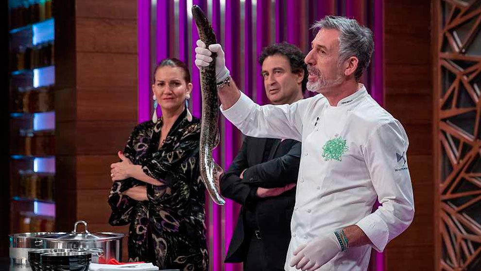 Pepe Solla, chef con una estrella Michelín, estará en las cocinas de 'MasterChef'.