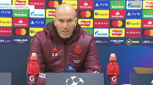 """Zidane: """"No vamos a gestionar los esfuerzos"""""""