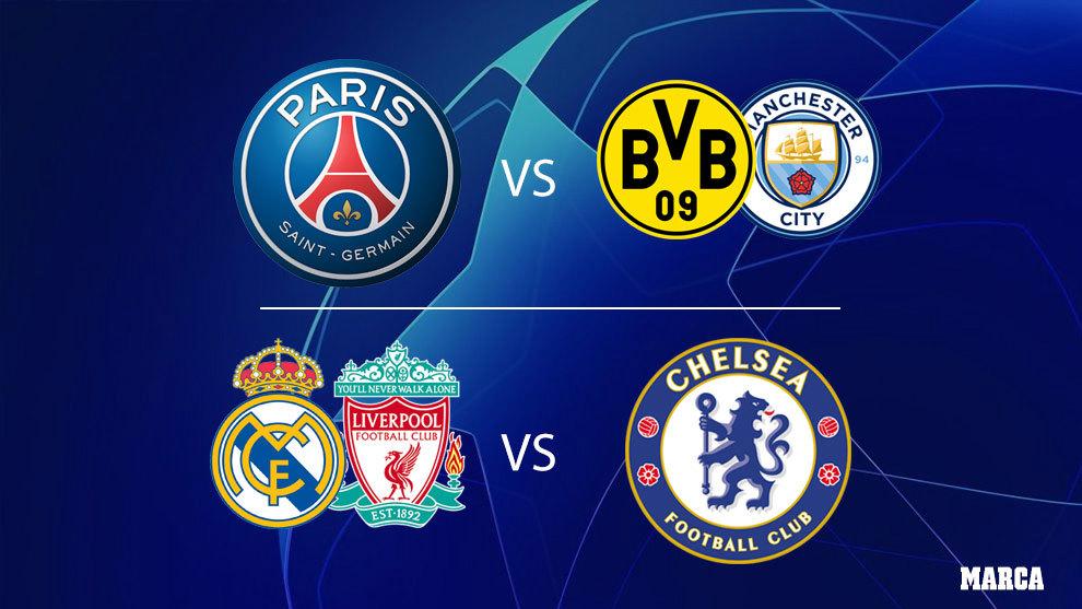 El Chelsea, rival de Real Madrid o Liverpool en semis
