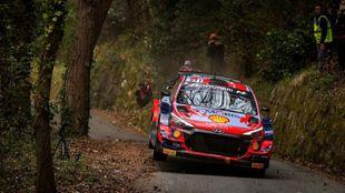 Neuville, el más rápido de los WRC inscritos en Sanremo.