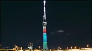 El Skytree de Tokio.