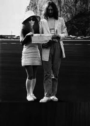 Publican un vídeo inédito del 'Give Peace A Chance' de Lennon y Yoko Ono