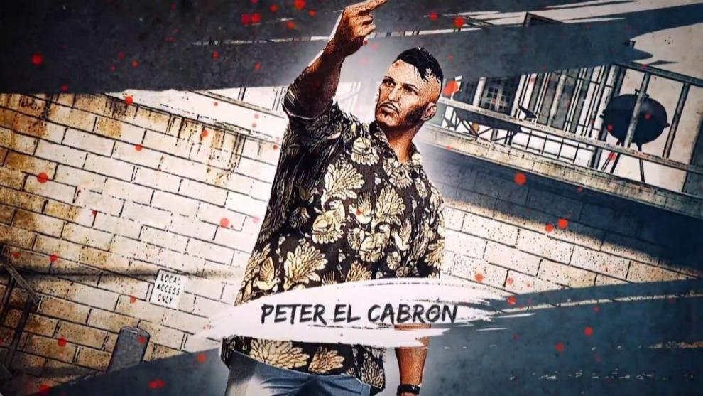 Ampeter es Pete Malavida en Marbella Vice