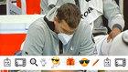 Imagen de Marc Gasol en el banquillo de los Lakers en el partido ante...