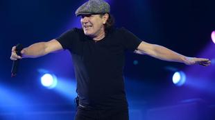 Brian Jophnson, la reconocible voz de AC/DC. (Foto: EFE)