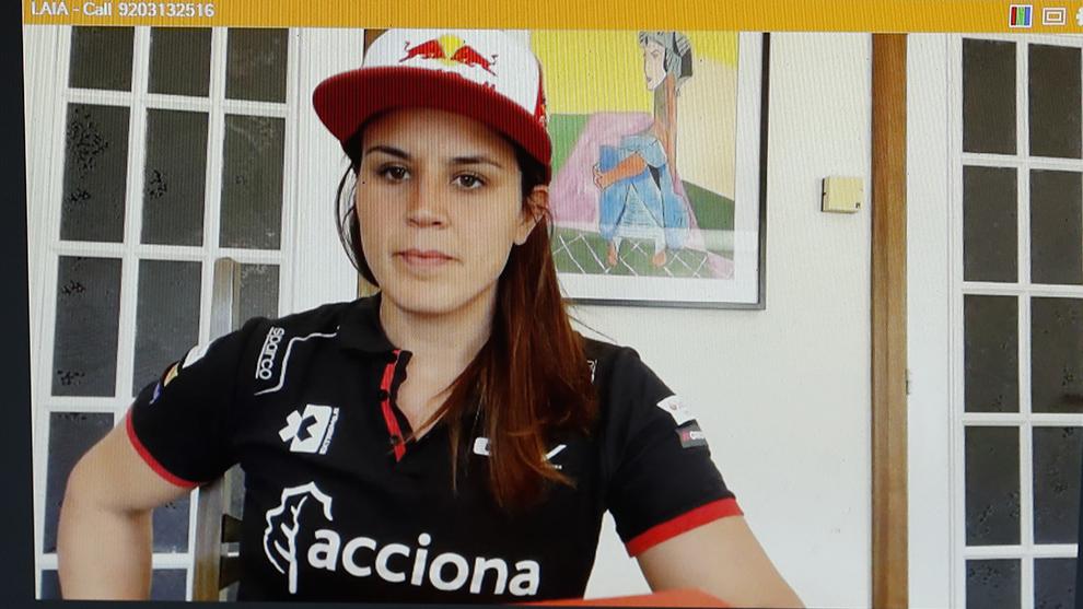 Laia Sanz, campeona mundial de Trial y Enduro.