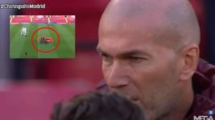 Zidane en estado puro: 'cazan' su psicológica charla previa al Liverpool