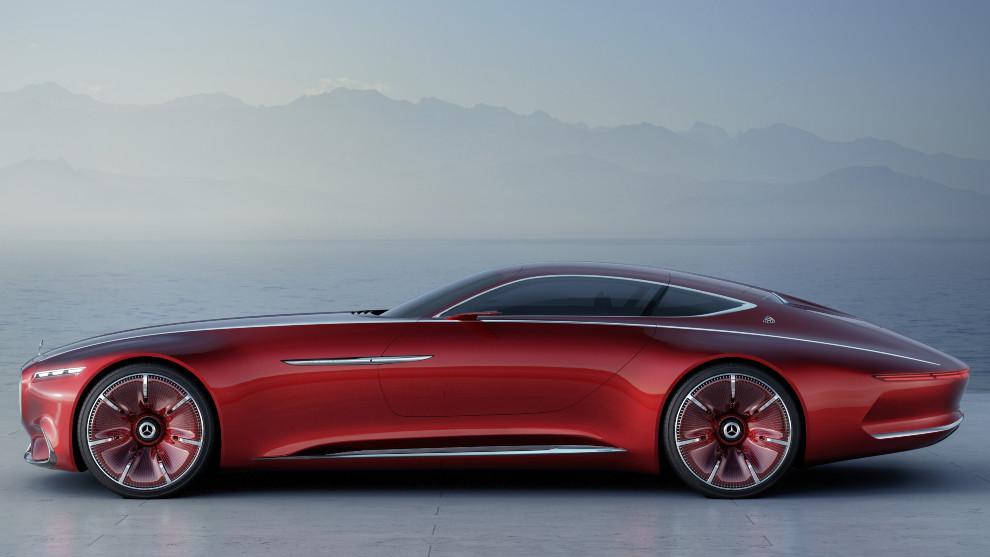 El Vision Mercedes-Maybach 6 Coupé.