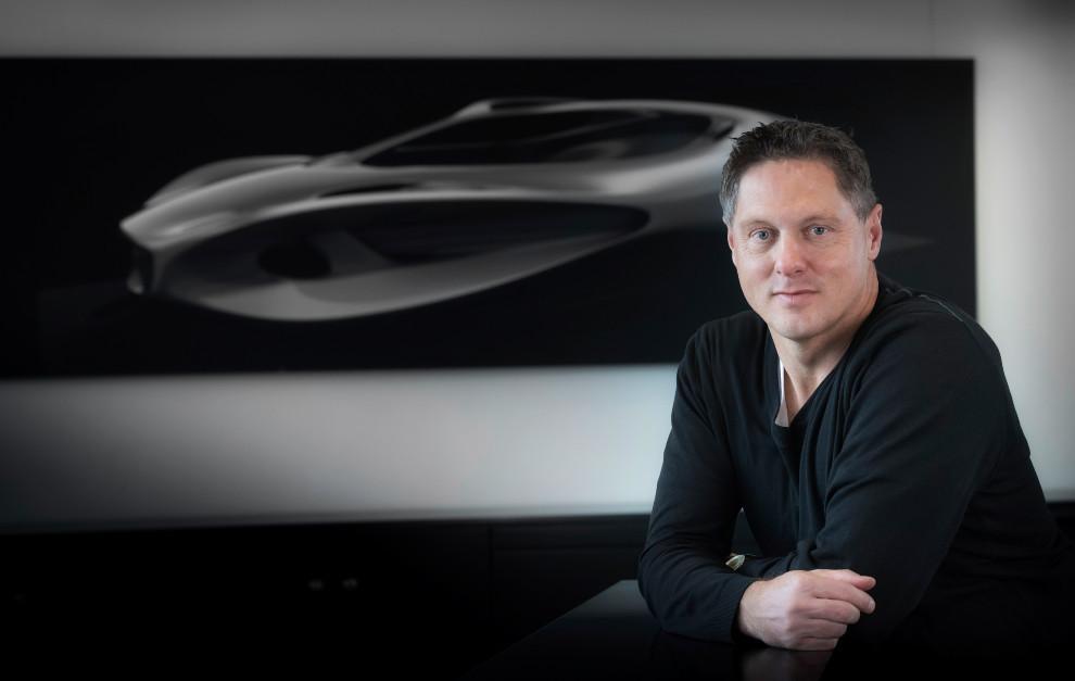 Gorden Wagener, jefe de diseño de Daimler AG.