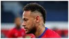 Neymar, antes del partido ante el Bayern.