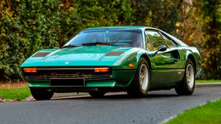 No era nada habitual que un Ferrari 308 se encargara en este tono...