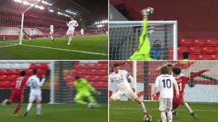 Todas las clarísimas ocasiones del Liverpool ante el Madrid: ¿pero cómo las querían?