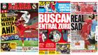 Así califica la prensa catalana el pase del Madrid