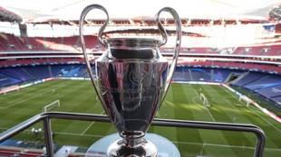 La copa de la Champions, en la pasada edición en Lisboa.