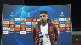 """La genial respuesta de Valverde al botellazo al autobús: """"Si yo vengo de allá..."""""""