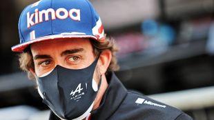 Fernando Alonso, con Alpine.