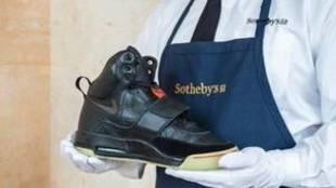 Unas zapatillas de Kanye West, puestas a la venta por un millón de...