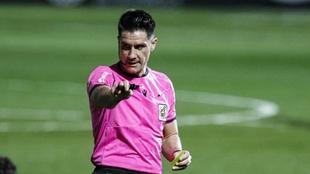 Ortiz Arias, durante un partido