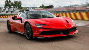 Ferrari SF90 Stradale plug in hybrid