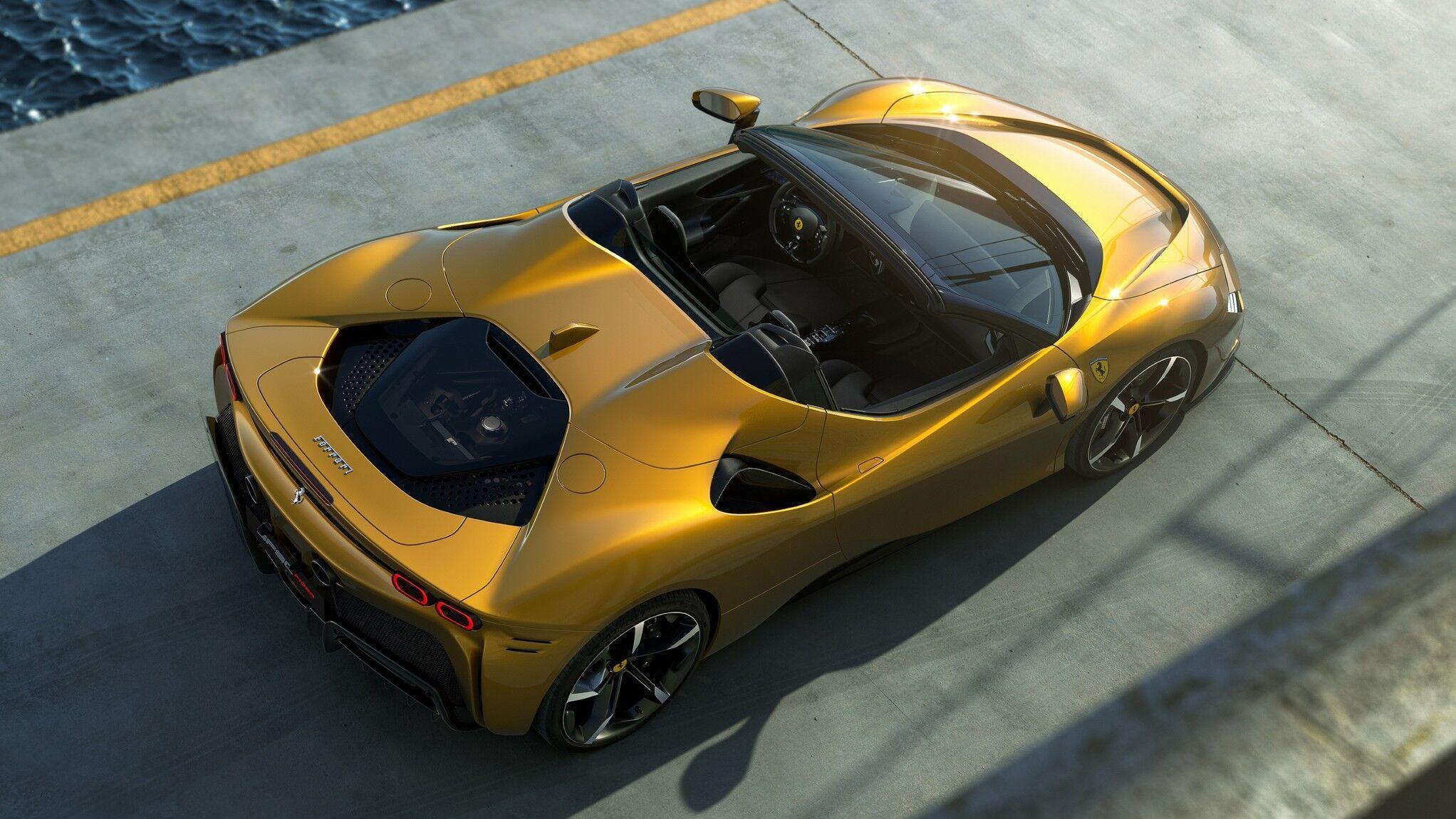 Ferrari SF90 Spider híbrido enchufable, Ferrari eléctrico