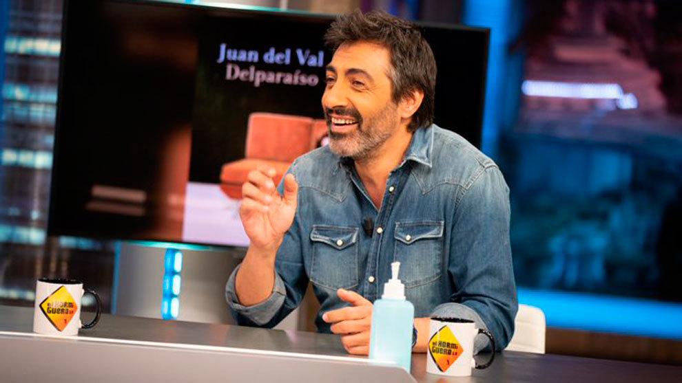 Juan del Val, en la tertulia de El Hormiguero.