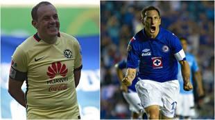 Máximos goleadores en el Clásico Joven entre América y Cruz Azul.