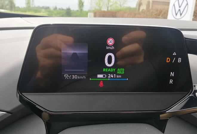 Cuadro de instrumentación del Volkswagen ID.4.