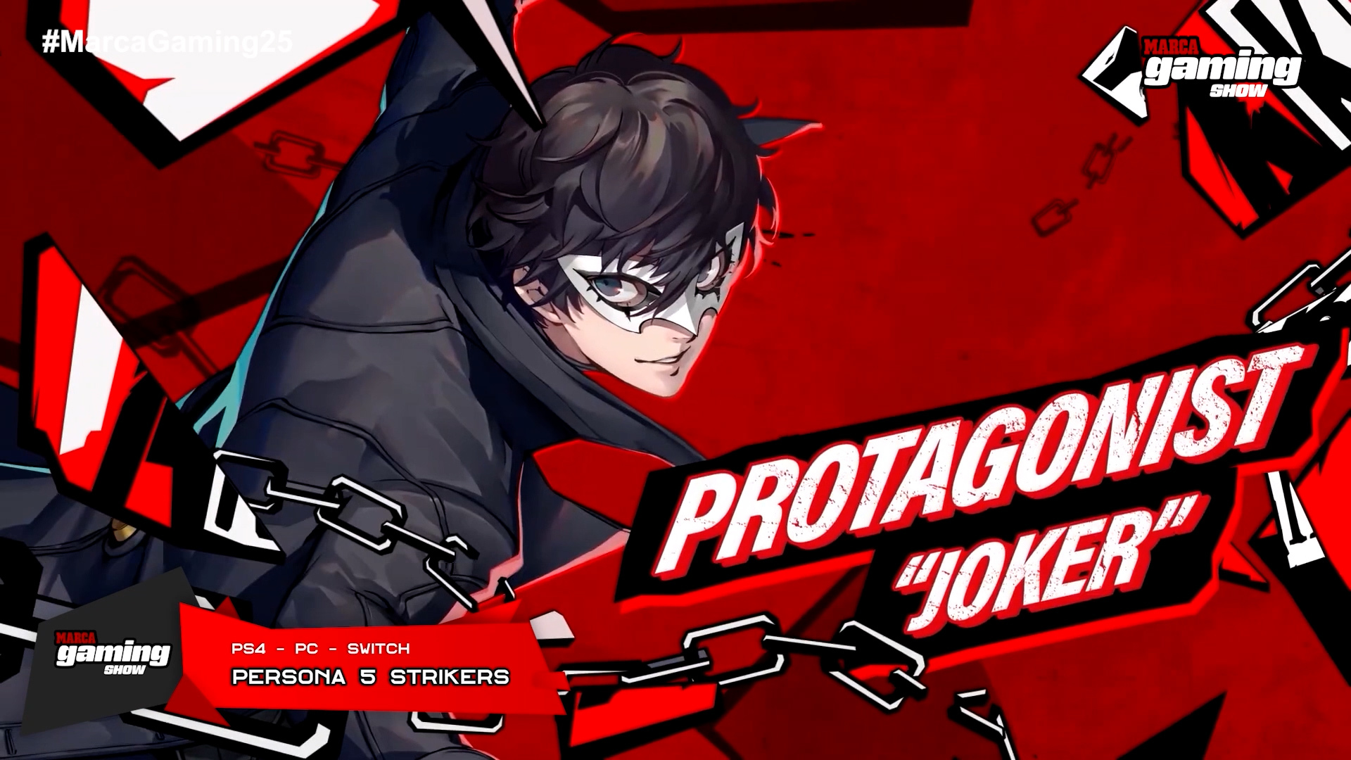Persona 5 Strikers (PC, PS4, SWITCH)