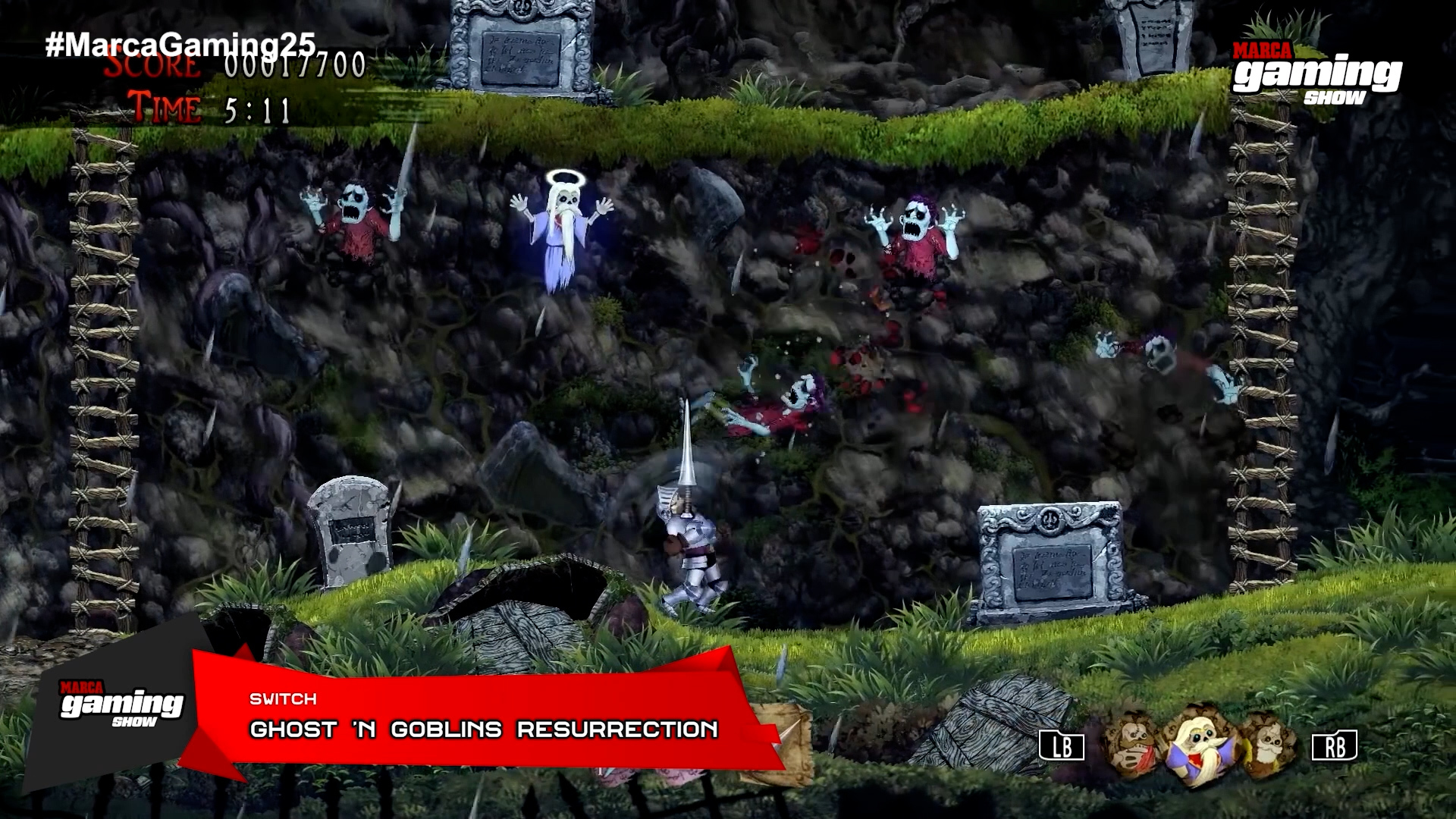 Ghost'n Goblins Resurrection (Switch)