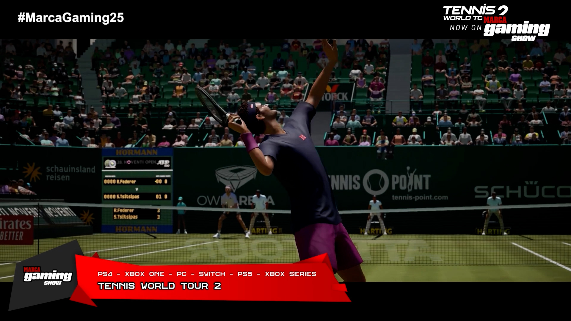 Tennis World Tour 2 (PS5, Xbox Series)