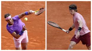 Rafa Nadal Rublev Masters Montecarlo Master 1000 TENIS