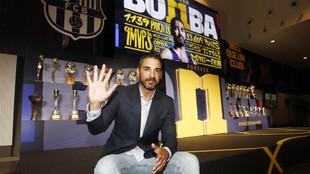 Juan Carlos Navarro, el día de su despedida como jugador del...