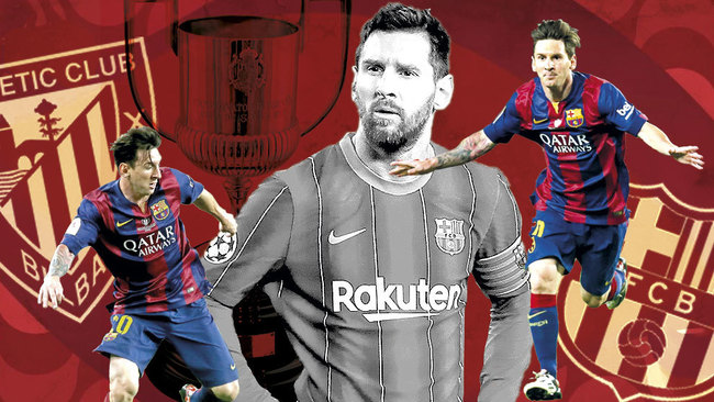 Messi: Athletic's Copa del Rey final menace