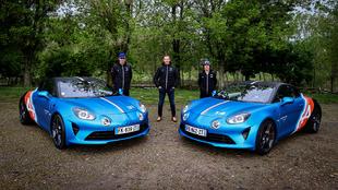 Alpine - A110 - Trackside - Fernando - Alonso - Esteban - Ocon