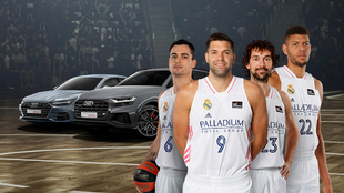 Los Audi del Real Madrid de baloncesto a la venta