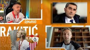 """Rakitic, a DjMaRiiO sobre su salida del Barça: """"El comportamiento de Valverde y el mío no ayudaron"""""""