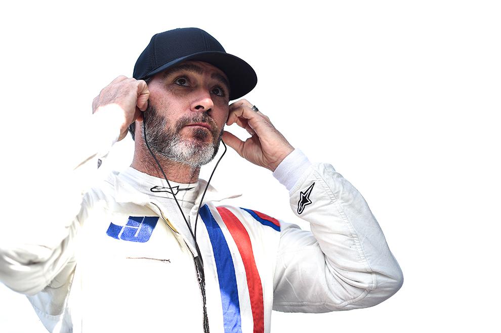 Jimmie Johnson (Ganassi) Indycar