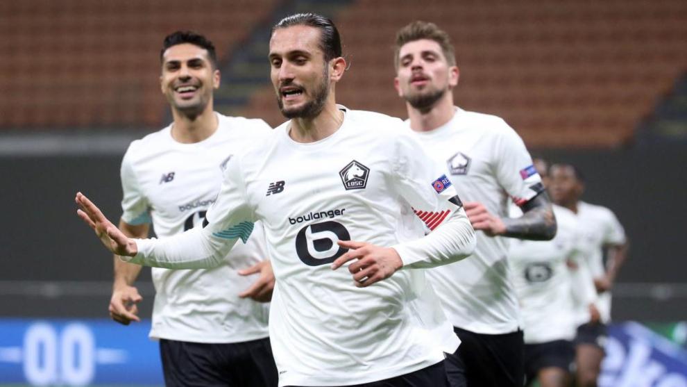 Luiz Araújo salva el liderato del Lille sobre la bocina
