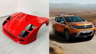 Capó - Ferrari - F40 - Dacia - Duster