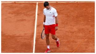 Djokovic, contrariado, en Montecarlo