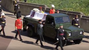 Funeral Felipe de Edimburgo Land Rover Defender