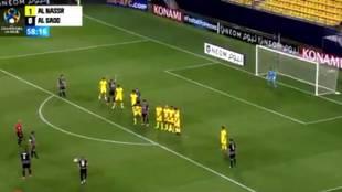 El golazo de falta directa de Santi Cazorla en la Champions asiática: ¡el verdadero ambidiestro!